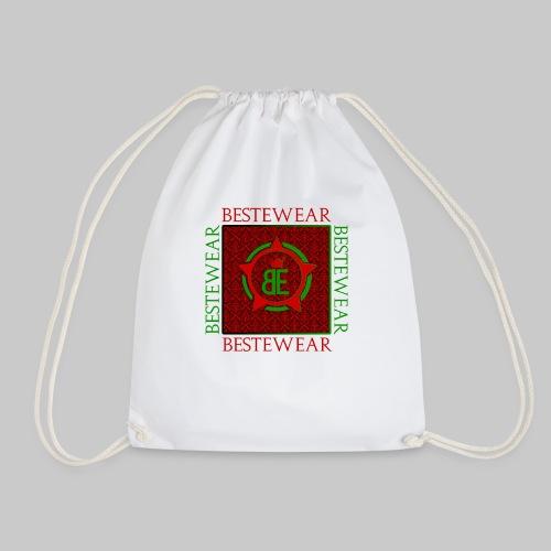 #Bestewear - Royal Line (Green/Red) - Turnbeutel