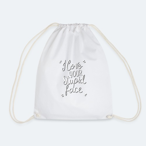 Stupid Face Design for Zazzle - Mochila saco