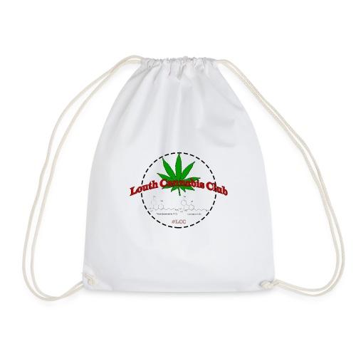 Louth cannabis club - Drawstring Bag