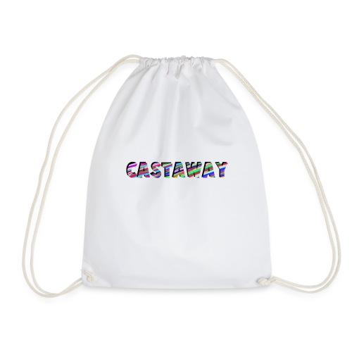 Castaway Waves - Drawstring Bag