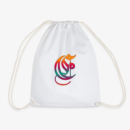 Elemental Retro logo - Drawstring Bag