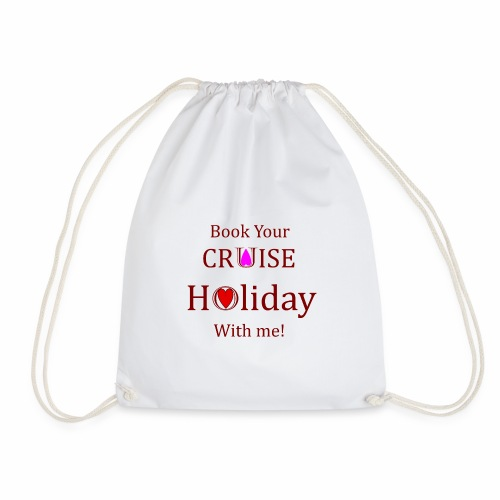 Book your Holiday 1 - Drawstring Bag