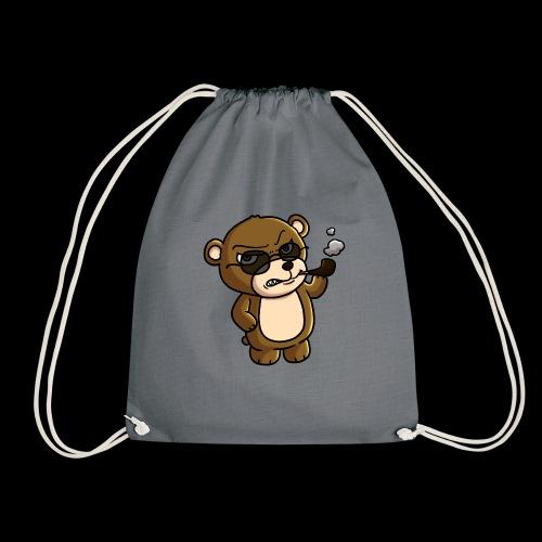 AngryTeddy - Drawstring Bag