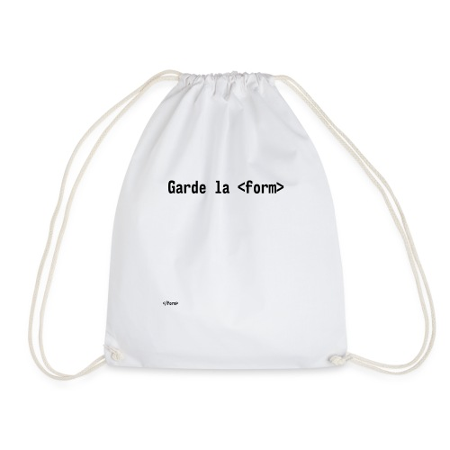 Design_dev_blague - Sac de sport léger