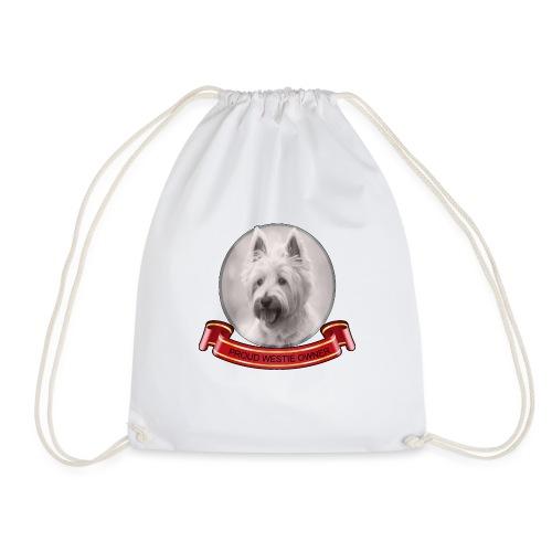 Proud dog owner - Drawstring Bag