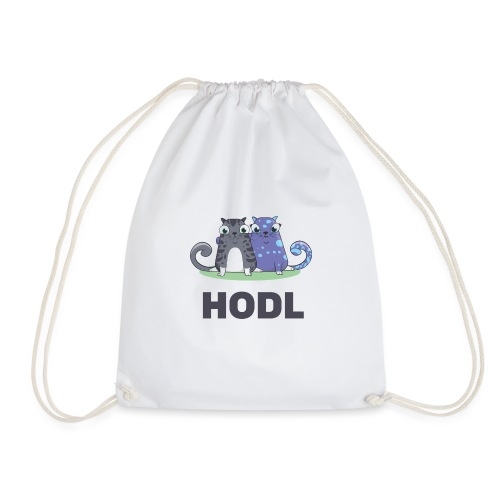 Kitty HODL - Drawstring Bag