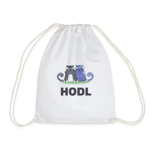 Kitty HODL - Drawstring Bag