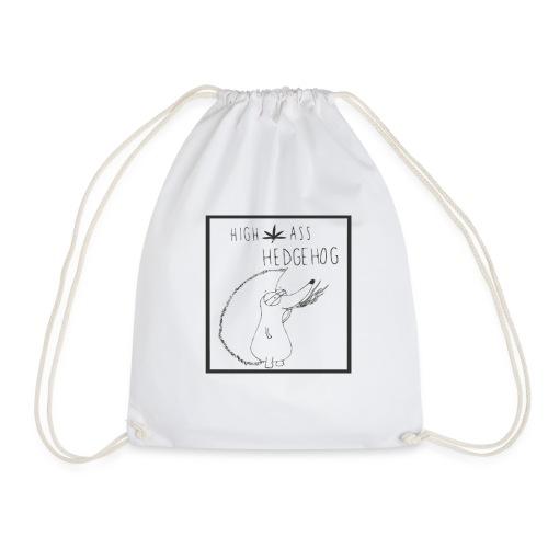 HIGH ASS HEDGEHOG - Drawstring Bag