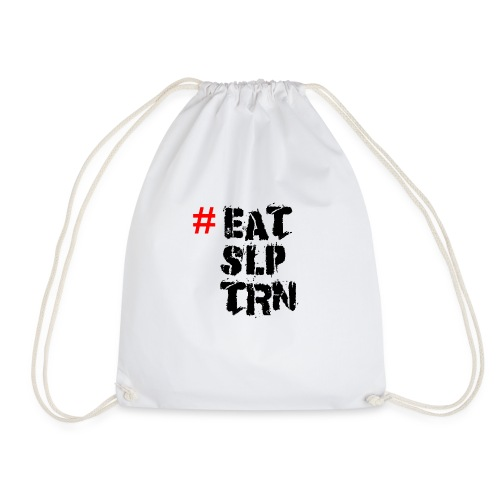 Eat Sleep Train Shirt - Turnbeutel