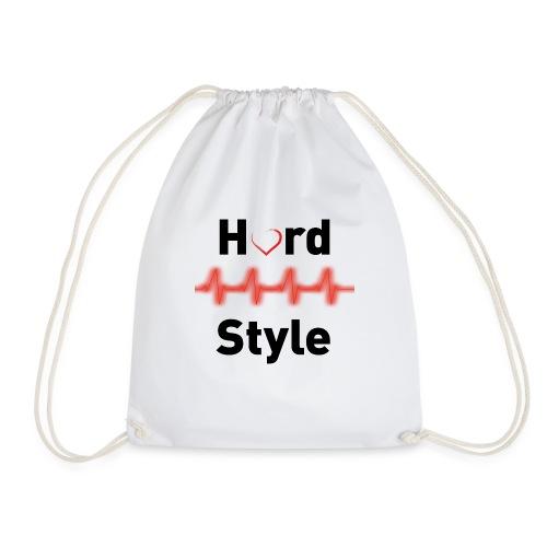 Hardstyle Heartbeat black - Turnbeutel