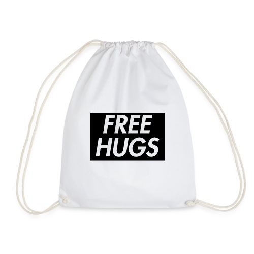 Free Hugs | Cool Design - Turnbeutel