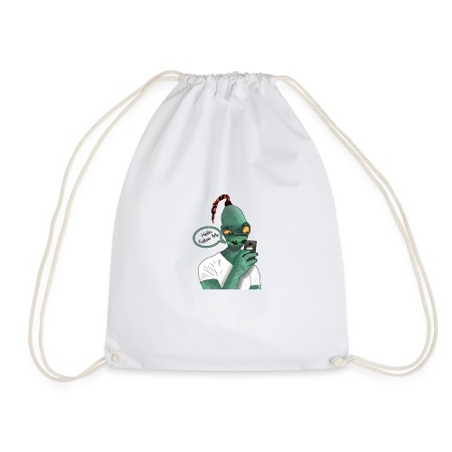 Modern Day Abe - Drawstring Bag