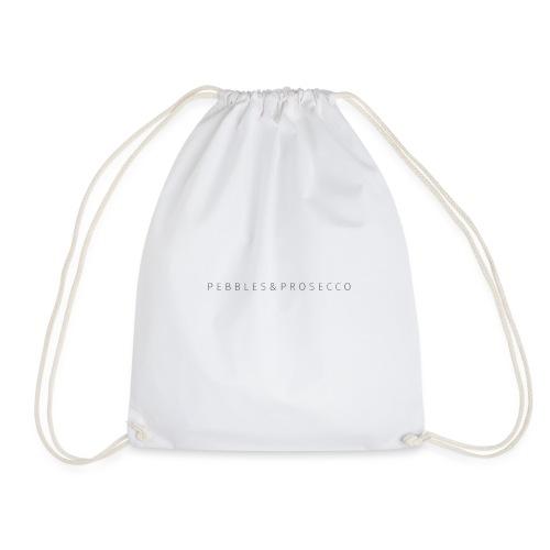 Pebbles & Prosecco - Drawstring Bag