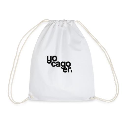 YO CAGO EN -> DESIGN - funny design. - Drawstring Bag