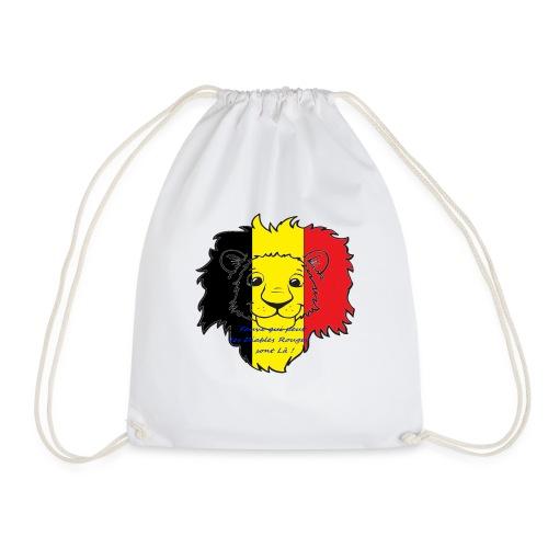 Lion supporter Belgique - Sac de sport léger