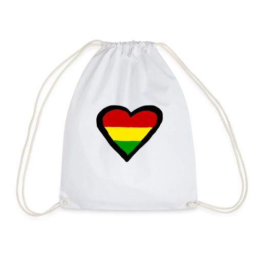 LOGO 1 RASTA BACKWARDS - Gymtas