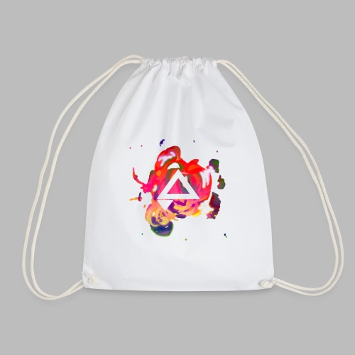APlays Abstract Explosion Design - Drawstring Bag