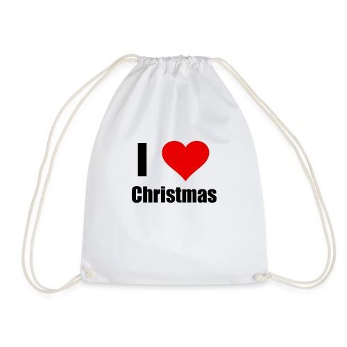 I LOVE CHRISTMAS - Turnbeutel