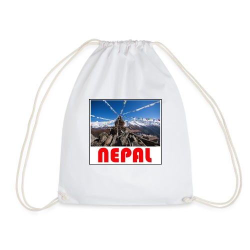 Nepal T-shirt - Drawstring Bag