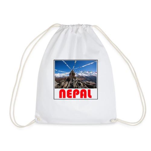 Nepal T-shirt - Drawstring Bag