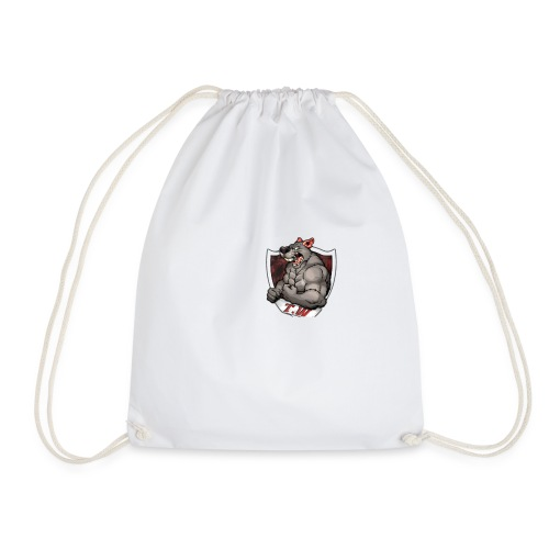 mouse logo - Drawstring Bag