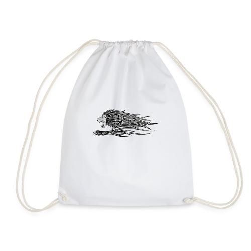 simpelt og flot løve - Sportstaske
