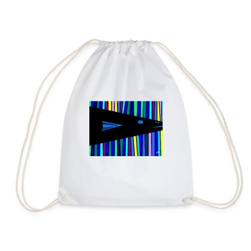 Poisson bleu - Sac de sport léger