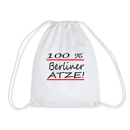 100% Berliner Atze - Turnbeutel