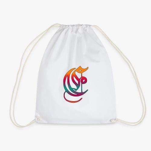 Elemental Retro logo - Drawstring Bag