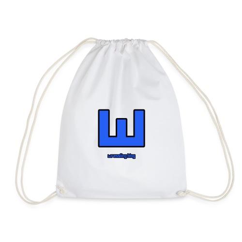 NEW Wressling Logo - Drawstring Bag