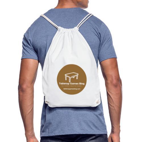 Circle Logo Brown - Drawstring Bag