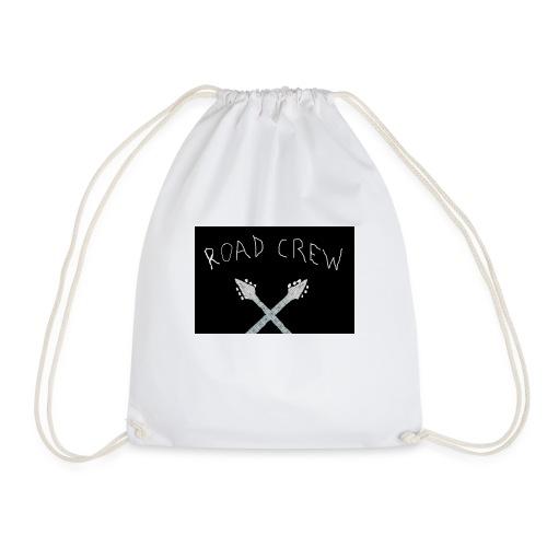 Road_Crew_Guitars_Crossed - Drawstring Bag