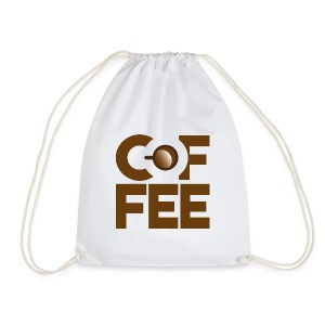 coffee is everything - Drawstring Bag