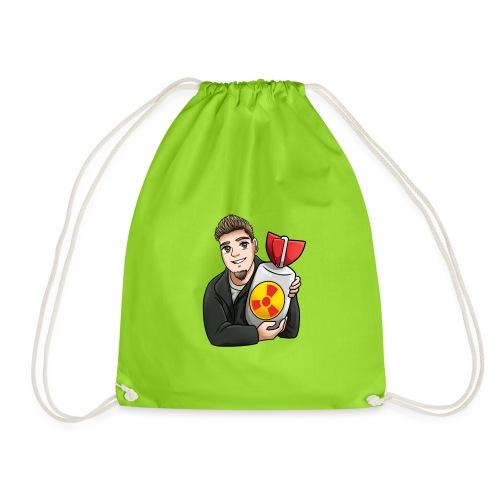 atomic bomb - Drawstring Bag