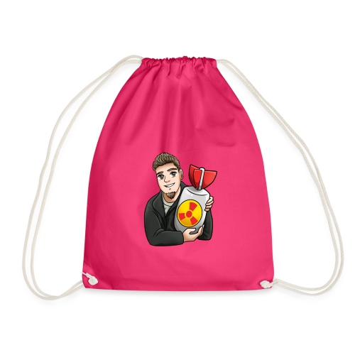 atomic bomb - Drawstring Bag