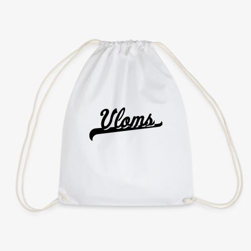 Zwart logo Vloms - Gymtas