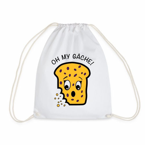 Oh My Gâche! Guernsey Mother's Day Design - Drawstring Bag