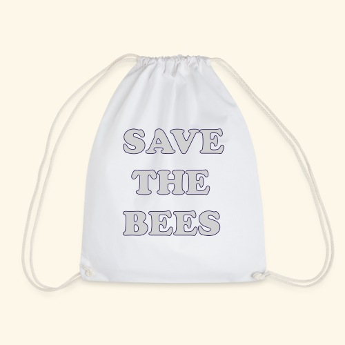 Save the Bees - Drawstring Bag
