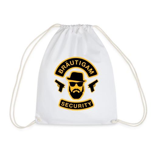 Bräutigam Security - JGA T-Shirt - Bräutigam Shirt - Turnbeutel