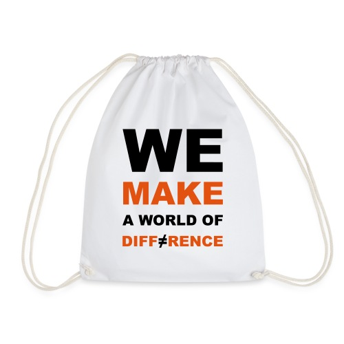 WE MAKE A WORLD OF DIFFERENCE 2 - Turnbeutel
