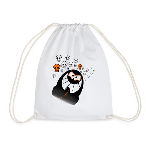 Halloween Ghost - Drawstring Bag