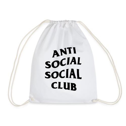 anti social social club - Drawstring Bag