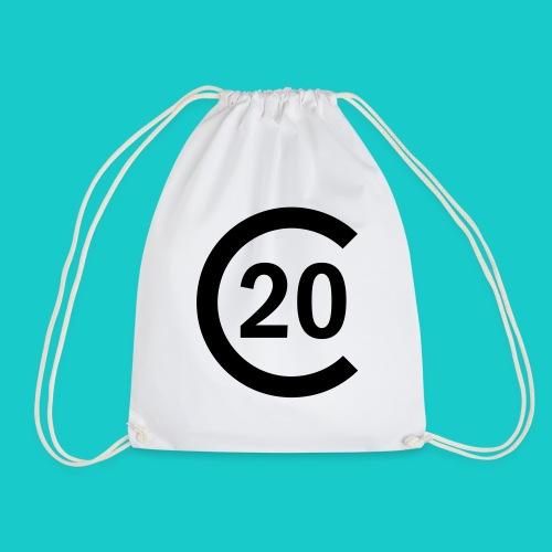 cal20 sailing class logo - Turnbeutel