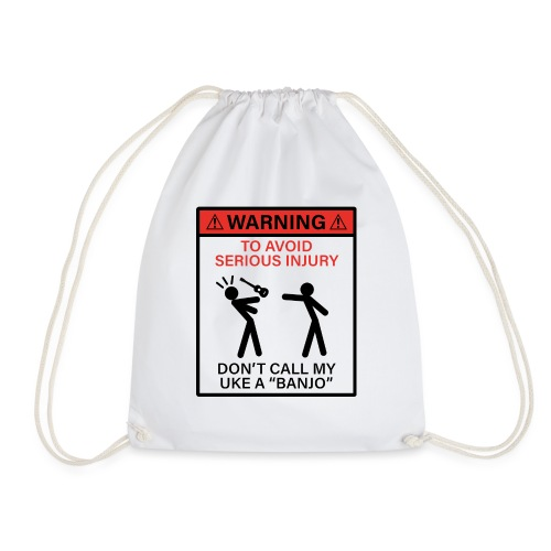 injury banjo - Drawstring Bag