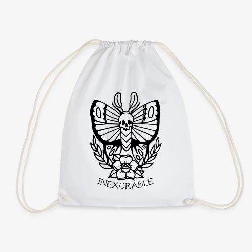 Traditional Tattoo Moth - Drawstring Bag