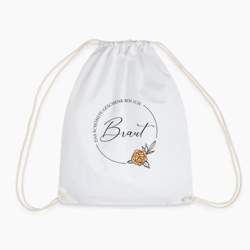 Braut - Das schönste Geschenk - Drawstring Bag