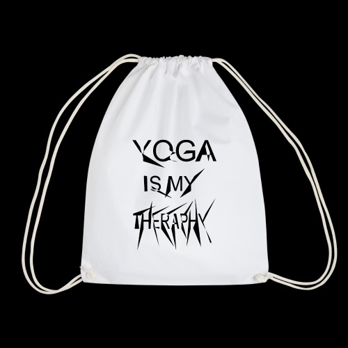 Yoga is my theraphy - Turnbeutel