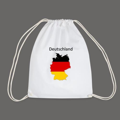 Deutschland Karte - Turnbeutel
