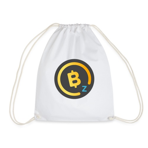 Dark BitcoinZ Logo - Drawstring Bag
