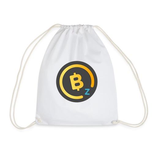 Dark BitcoinZ Logo - Drawstring Bag